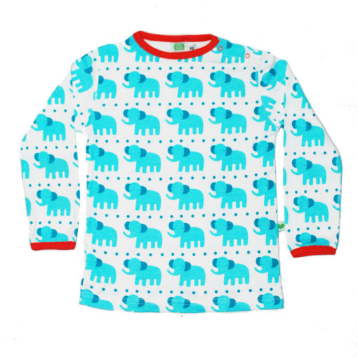 Sture & Lisa Shirt Elephants