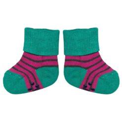 loud + proud Socken fuchsia