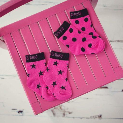 Blade & Rose Socken Hot Pink