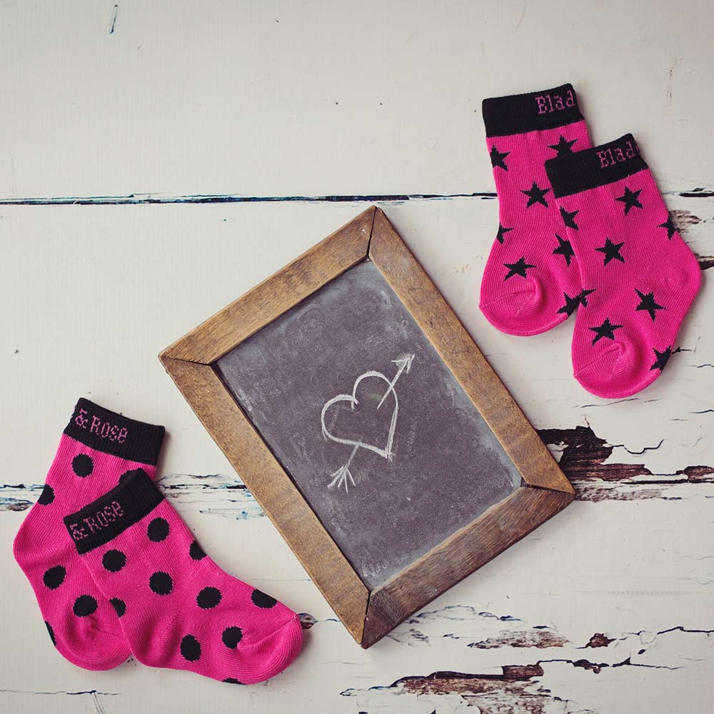 Blade & Rose Socken Hot Pink