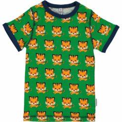 Maxomorra Kurzarm Shirt Tiger