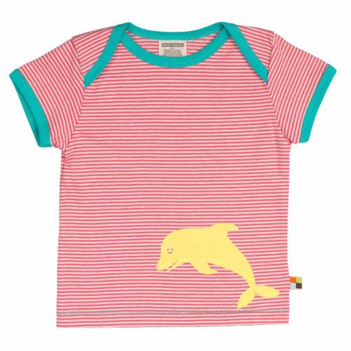 loud and proud Shirt kurzarm Delfin