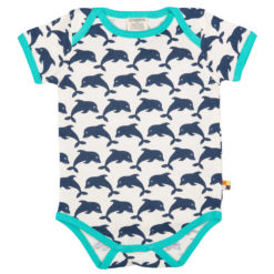 loud and proud body kurzarm delfin