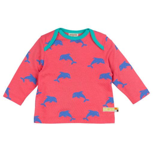 loud and proud Shirt langarm Delfin