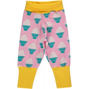 Maxomorra Pants Rib Icecream