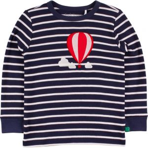 Fred's World Balloon Stripe T Navy Cream