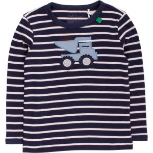 Fred's World Bulldozer Stripe T