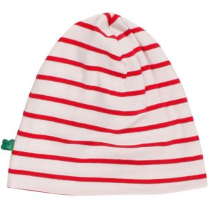 Fred's World Stripe Beanie cream red