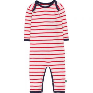 Fred's World Stripe Bodysuit cream red