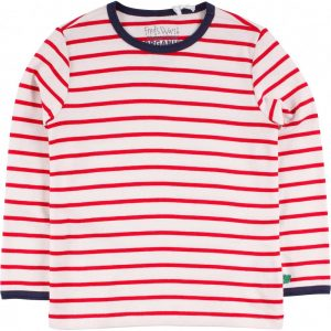 Fred's World Shirt Stripe cream red