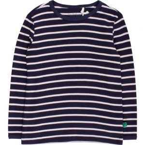 Fred's World Stripe T Navy Cream