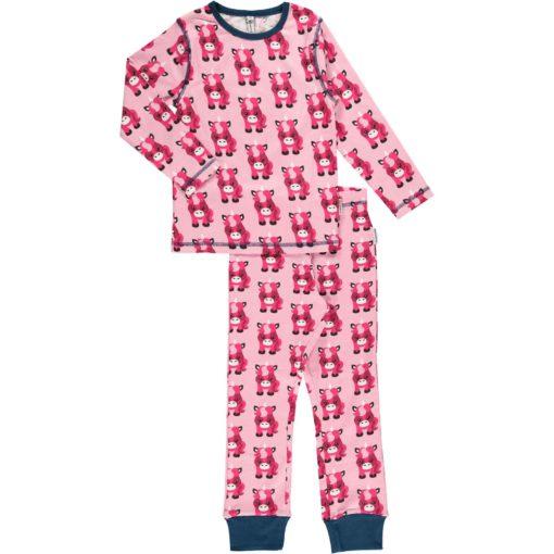 Maxomorra Schlafanzug Einhorn