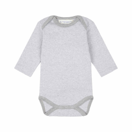Sense Organics Baby Body langarm Luna Yvon Stripes