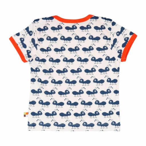 loud + proud Shirt kurzarm Ameise