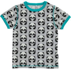 Maxomorra Shirt Pandas