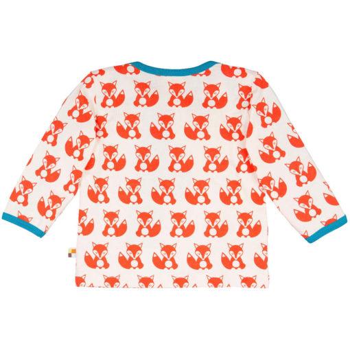 loud + proud Shirt langarm Fuchs