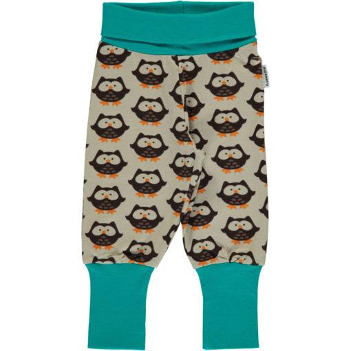 Maxomorra Pants Rib Owl Pumphose