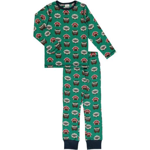 Maxomorra Pyjama Set Farm