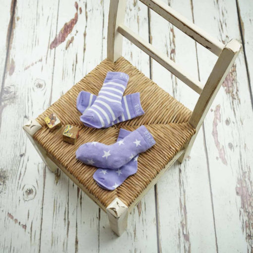 Blade & Rose Lilac and Cream Socks