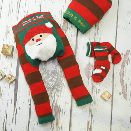 Blade & Rose Santa Fluffy Christmas Leggings