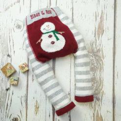Blade & Rose Snowman Fluffy Christmas Leggings