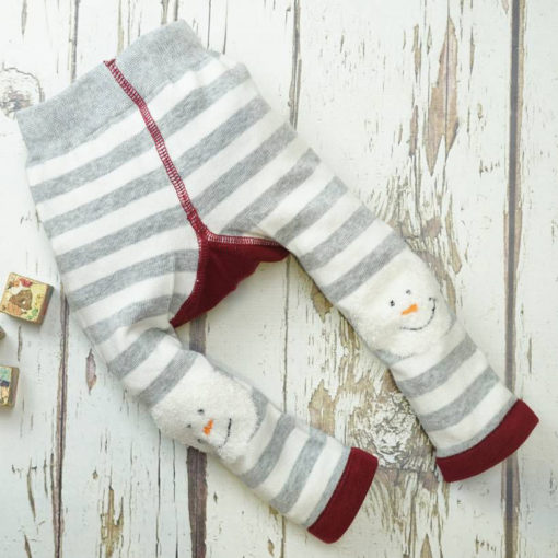 Blade and Rose Snowman Fluffy Christmas Leggings