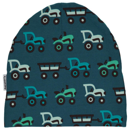 Maxomorra Hat Velour Tractor