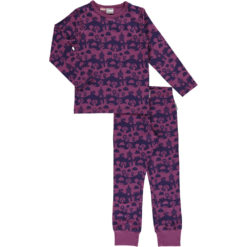Maxomorra Pyjama Set Purple Landscape