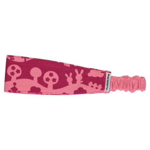 Maxomorra Hairband Pink Landscape