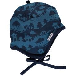Maxomorra Hat Helmet Blue Landscape