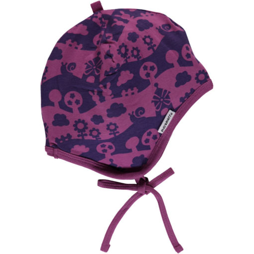 Maxomorra Hat Helmet Purple Landscape