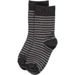 Maxomorra Socks Grey Stripes