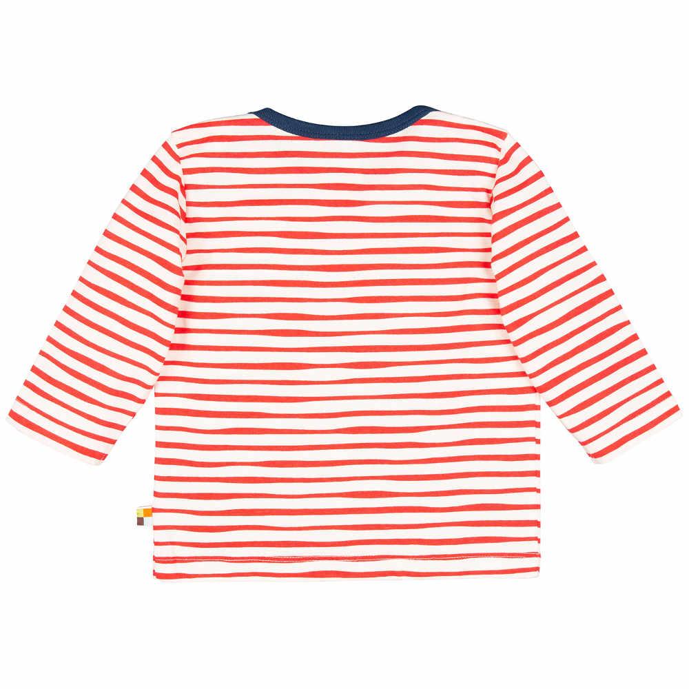 b1dfc3378 loud + proud Shirt Streifen cayenne rot