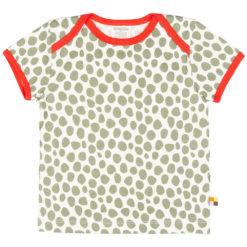 loud + proud T-Shirt Punkte olive grün