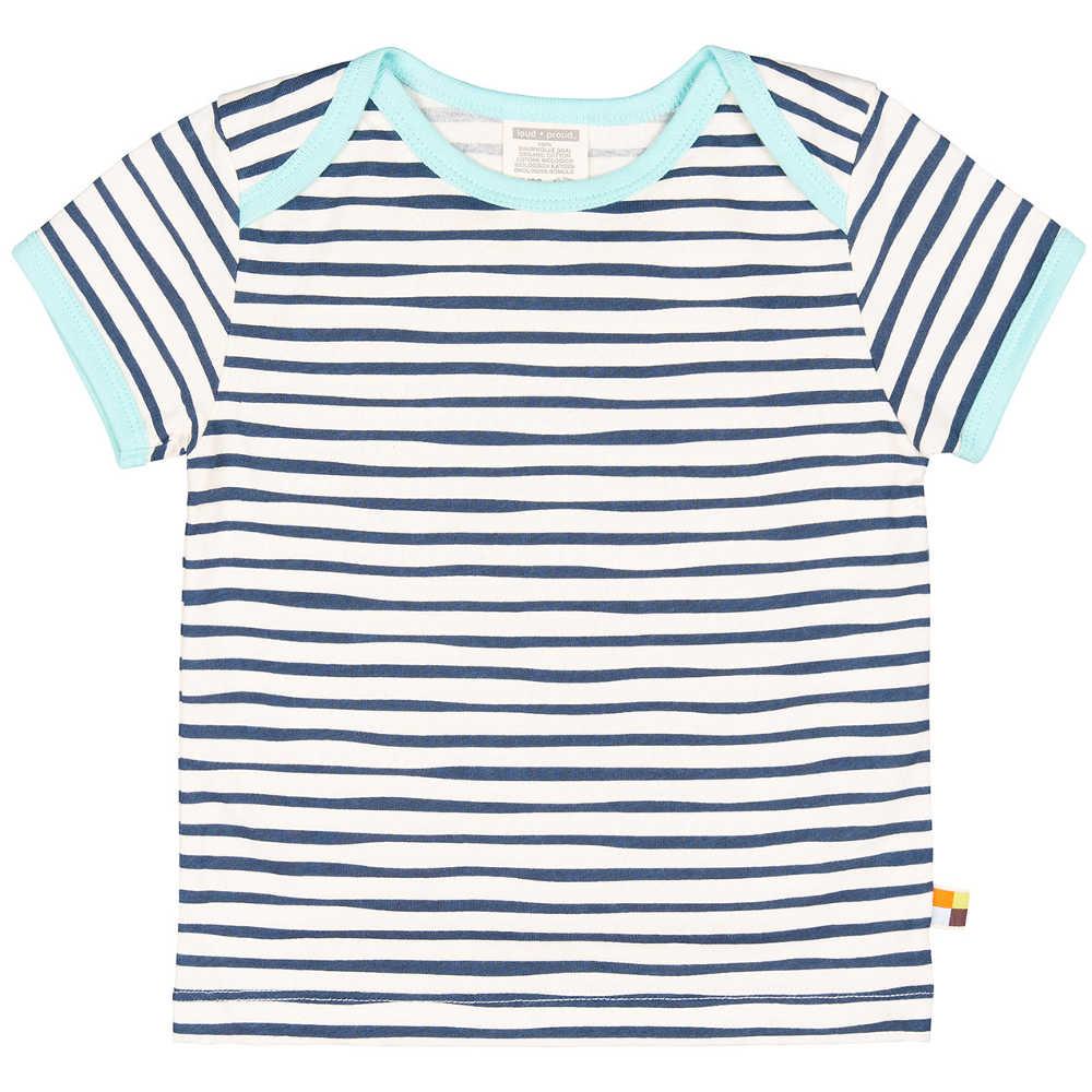 6cf068e5f loud and proud T-Shirt Streifen