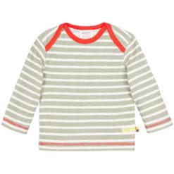 loud + proud Langarm shirt Streifen