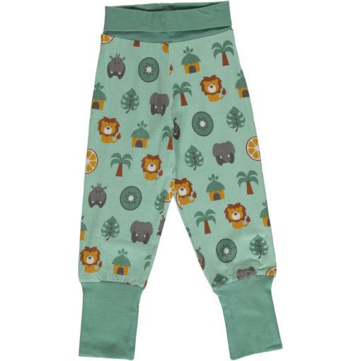 Maxomorra Pants Rib Jungle