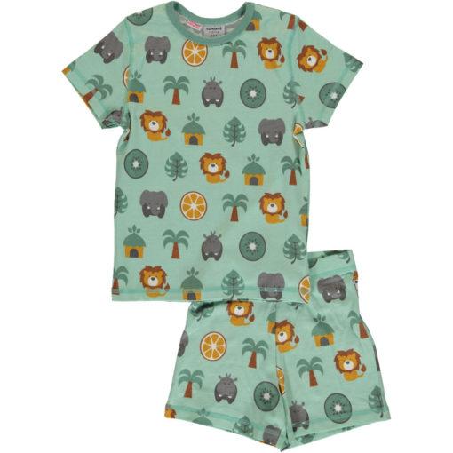 Maxomorra Pyjama Set Jungle