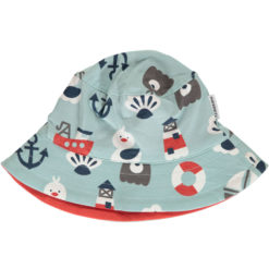 Maxomorra Hat Sun Blue Ocean