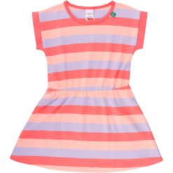 Fred's World Multi Stripe Dress coral