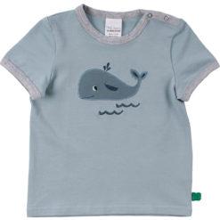 Fred's World kurzarm Shirt Baby Hello Whale
