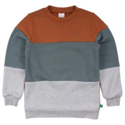 Fred's World Sweatshirt Block Almond